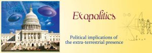 Exopolitics Banner: Political implications of the extra-terrestrial presence